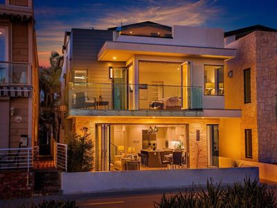 Photo for luxury living on the beach with Hot tub and Incredible sunrise and sunset views