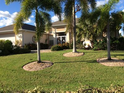 Photo for Beautiful Waterfront Home, with Pool, Jacuzzi and Large Screened Lanai