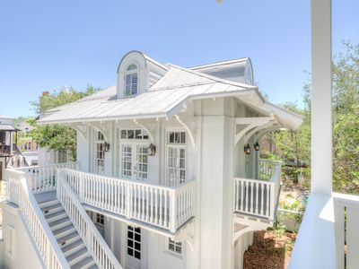 Photo for Sloane's Carriage House - Southside Rosemary Beach, < 3 min walk to Beach