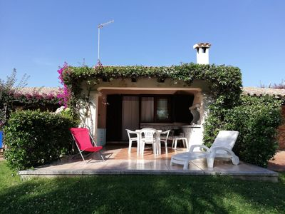 Photo for Terraced house with dehors facing the beach in a residence
