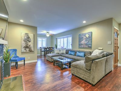 Photo for Modern 4BR/3BA/2 kitchens  by Disneyland+Convention Center