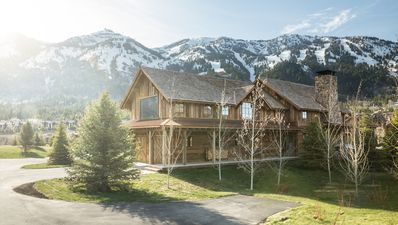 Photo for Contemporary & rustic lodge at base of Jackson Hole Mountain Resort