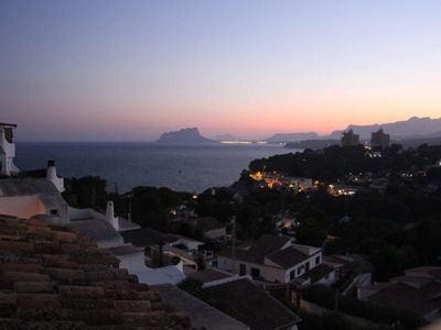 Photo for Large Apartment with fantastic Sea views - 550 meters to El Portet beach