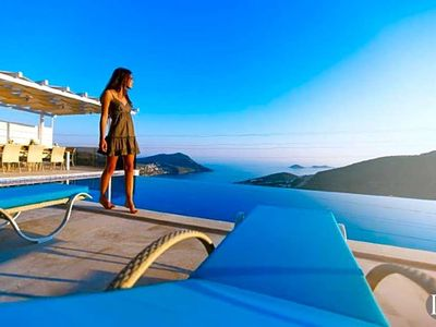 Photo for Kalkan Villa, Sleeps 12 with Pool and Air Con