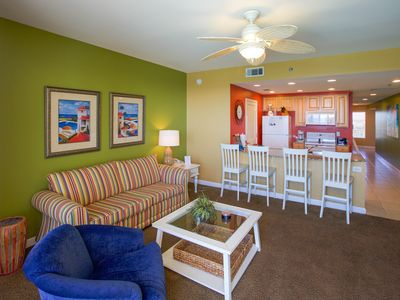 Photo for Glorious Balcony Views!  1 BR with Bunks, Free Beach Chairs and WIFI too!