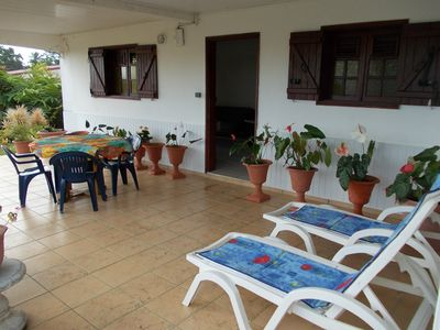 Photo for 1BR Villa Vacation Rental in petit bourg, Basse-Terre