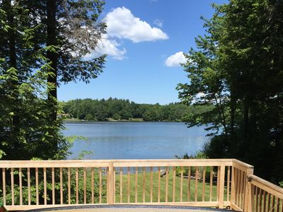 Photo for Picturesque Lake House Near Tanglewood and Otis Reservoir
