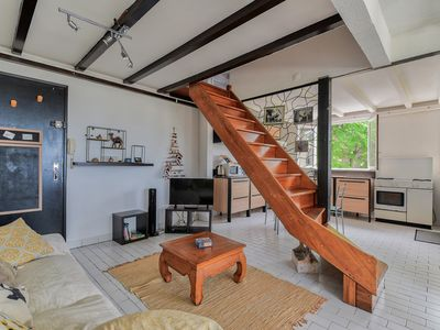 Photo for Charming duplex in St Gilles les Bains