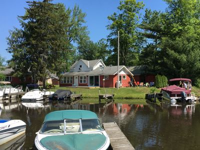 Photo for Cozy Canal Front Home in Wonderful Sylvan Beach, NY