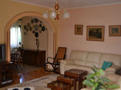 Photo for Apartment Rosa with two terraces, garden, a few steps from the beach