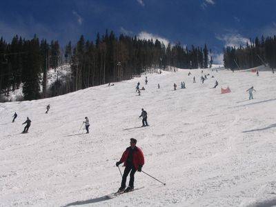 Photo for Walk to slopes! Up-scale Condo in Village! Kids Ski Free! Worry-free booking!