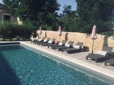 Photo for Provencal farmhouse 3 bedroom, 3 SBD, max 6 persons, equipped kitchen