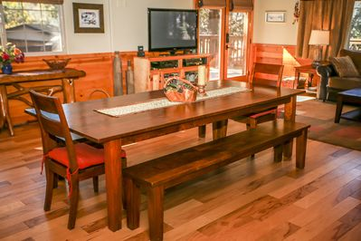 Dining Area  - Dining table with enough seating for 10