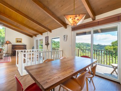 Photo for Private, Panoramic Views Near SF, Wine Country, Beaches, Redwoods, Hiking