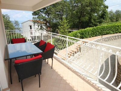 Photo for Two bedroom apartment with terrace and sea view Poljane, Opatija (A-7885-a)