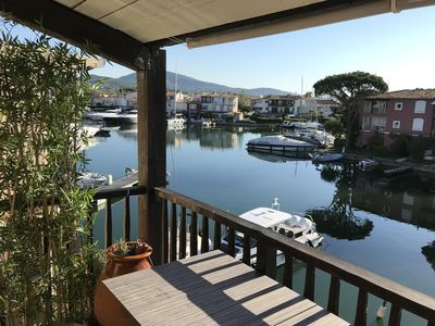 Photo for New apartment for 5/6 people, Port Grimaud magnificent view of the canals