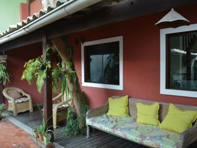 Photo for Cozy family home 2 blocks from Praia do Forte