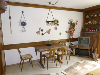 "Photo for Cozy apartment ""Hansl"" directly in the ski u. Hiking area, swimming pool + sauna"