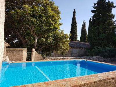 Photo for Spacious house and comfortable. 3000m2 of garden, barbecue, swimming pool privat