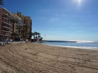 Photo for Apartment 250m from the Mediterranean Sea, Playa de Los Locos. Side views of the sea
