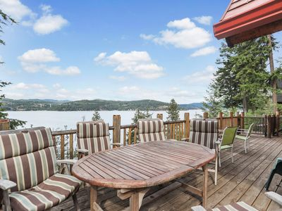 Photo for Spectacular lakefront home w/ 2 kayaks, amazing views & tram to dock!