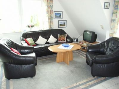 Photo for Anlage am Wehrberg Apartment 2, non-smoking, wifi, south-facing balcony, quiet location