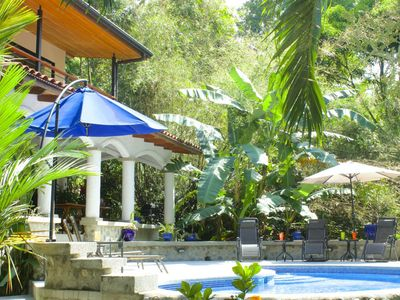 Photo for LUXURY IN THE JUNGLE-WOW!!- 3 VILLAS- 5 MASTER SUITES / 6.5 BA- 4 TERRACES- 2 POOLS