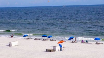 Photo for What A View! Directly on the beach! 2Bedroom/2Bath ~Picard Realty Rentals