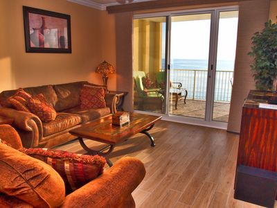 Photo for Platinum Rated, Gulf Front, Ocean Reef 2 Bed 2 Bath With Free Beach Service