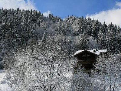 Photo for Beautiful cottage in Morzine - stunning views