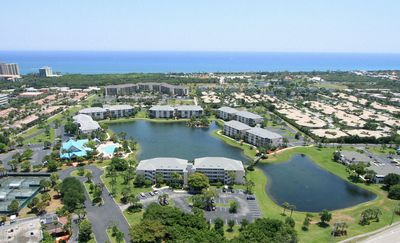 Photo for Walk to beach!  2/2.5 townhome seaside community with pools, restaurants & bars