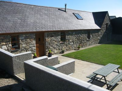 Photo for Superior barn conversion with beams and high ceilings offers comfortable and tasteful accommodation