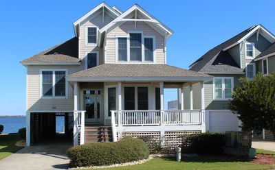 Photo for Village Landings 66, Gorgeous 4 Bedroom Sound-Front Home in Pirate's Cove