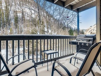 Photo for NEW LISTING DEAL! Stunning views from the top of Main St- Hot Tub, Trails to Mt. Royal and Main St!