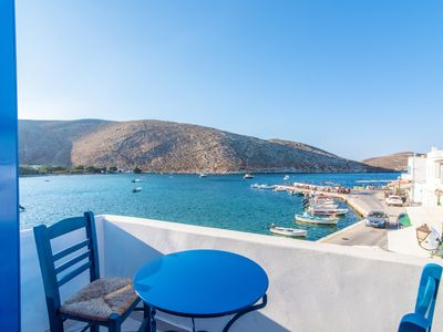 Photo for Cycladic Seafront House In Panormos