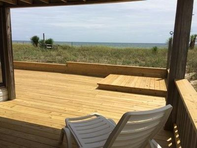 Photo for Very Nice 2 Bedroom Beach Condo 75' from Gulf Of Mexico!