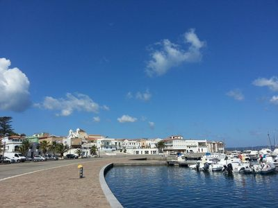 Photo for Sardinia, Calasetta brand new apartment in front of a small tourist port