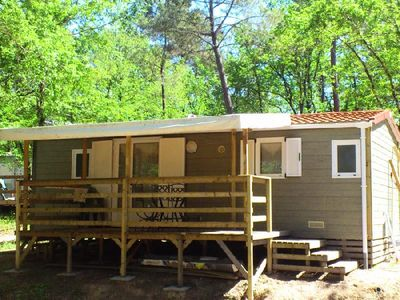 Photo for Camping La Garenne *** - Cottage Les Mimosas 3 Rooms 4/5 People