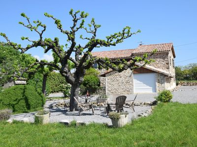 Photo for Characteristic house in the heart of Ardèche with lovely big garden