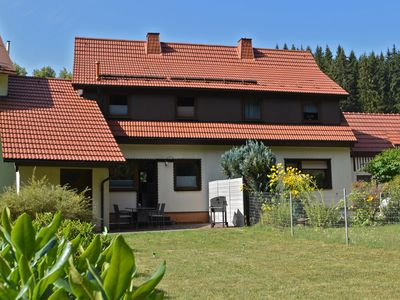Photo for Beautiful holiday home in Thuringia, right at the Rennsteig, with garden and terrace