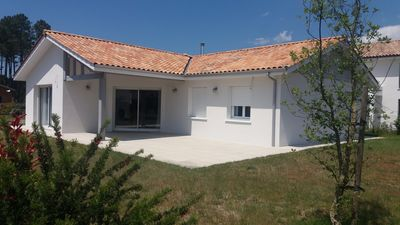 Photo for Villa Landes coast (Moliets) for 8 people