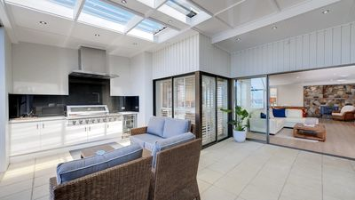 Photo for Whispering Sands, 10 Sandy Point Road - Luxury waterfront home with aircon, WIFI & Foxtel