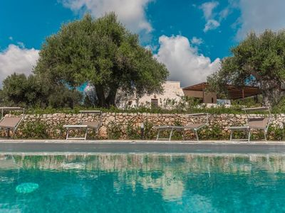 Photo for 3 bedroom Villa, sleeps 7 in Abate Mauro with Pool, Air Con and WiFi