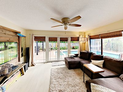 Photo for Delray Delight: Private Heated Pool, Spa, Grill & Alfresco Dining, Near Beach