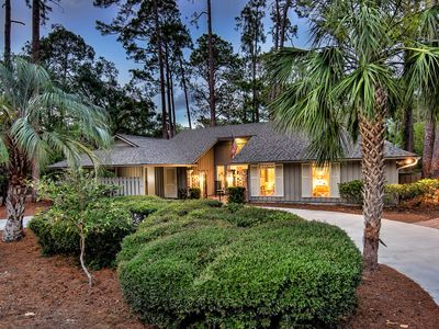 Photo for Charming 3BR/2BR Sea Pines Beach Cottage with Private Pool and Walk to Beach