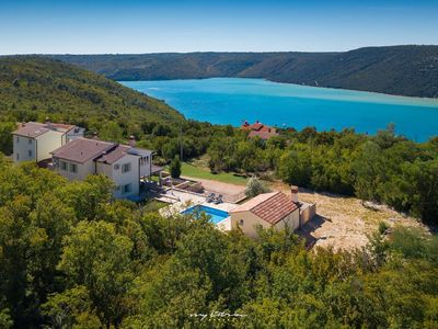 Photo for Beautiful family villa with pool near Rabac