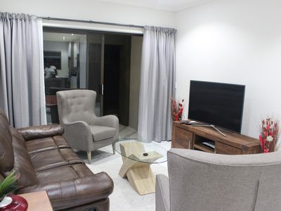 Photo for Ground floor modern unit with private garden, in the heart of Fourways