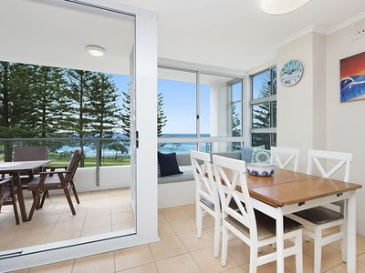 Photo for Rainbow Pacific unit 8 - Great value unit right on the beachfront Rainbow Bay Coolangatta with WiFi