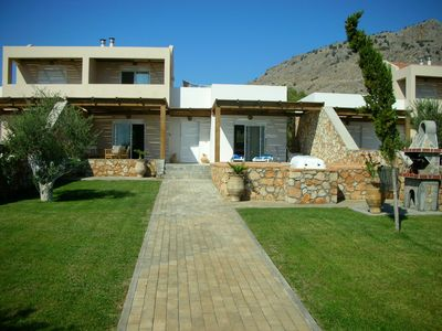 Photo for Luxury Villa with Private Pool between Historic Lindos and Pefkos