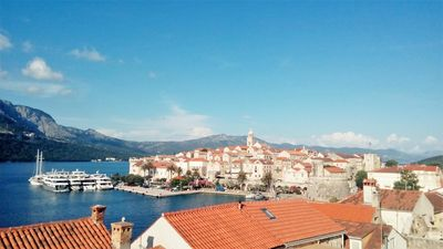 Photo for Three bedroom apartment with balcony and sea view Korčula